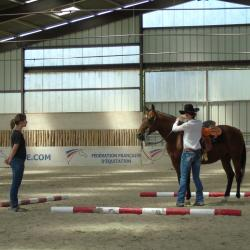 Cours Equitation western